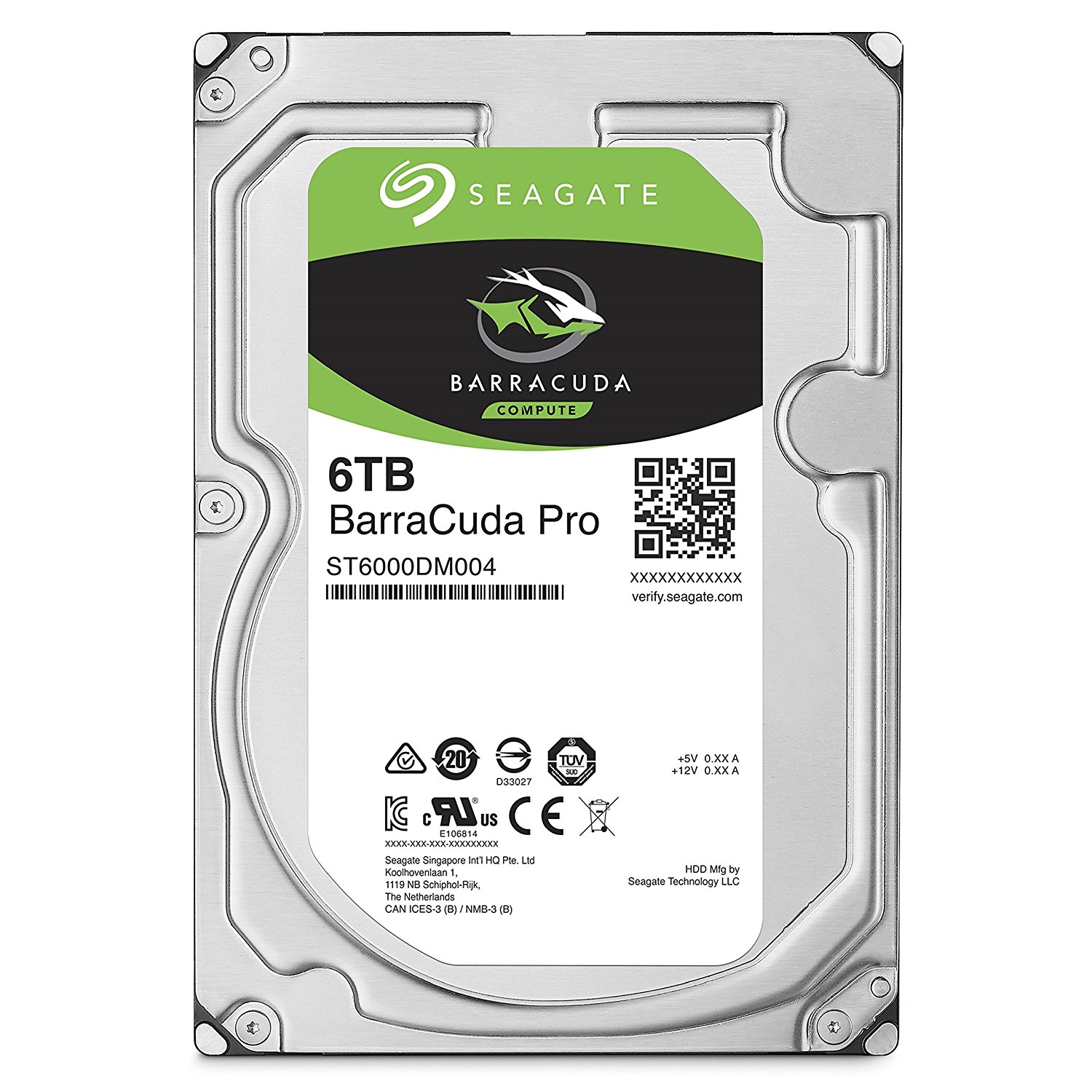 6TB Int BarraCuda SATA 3.5
