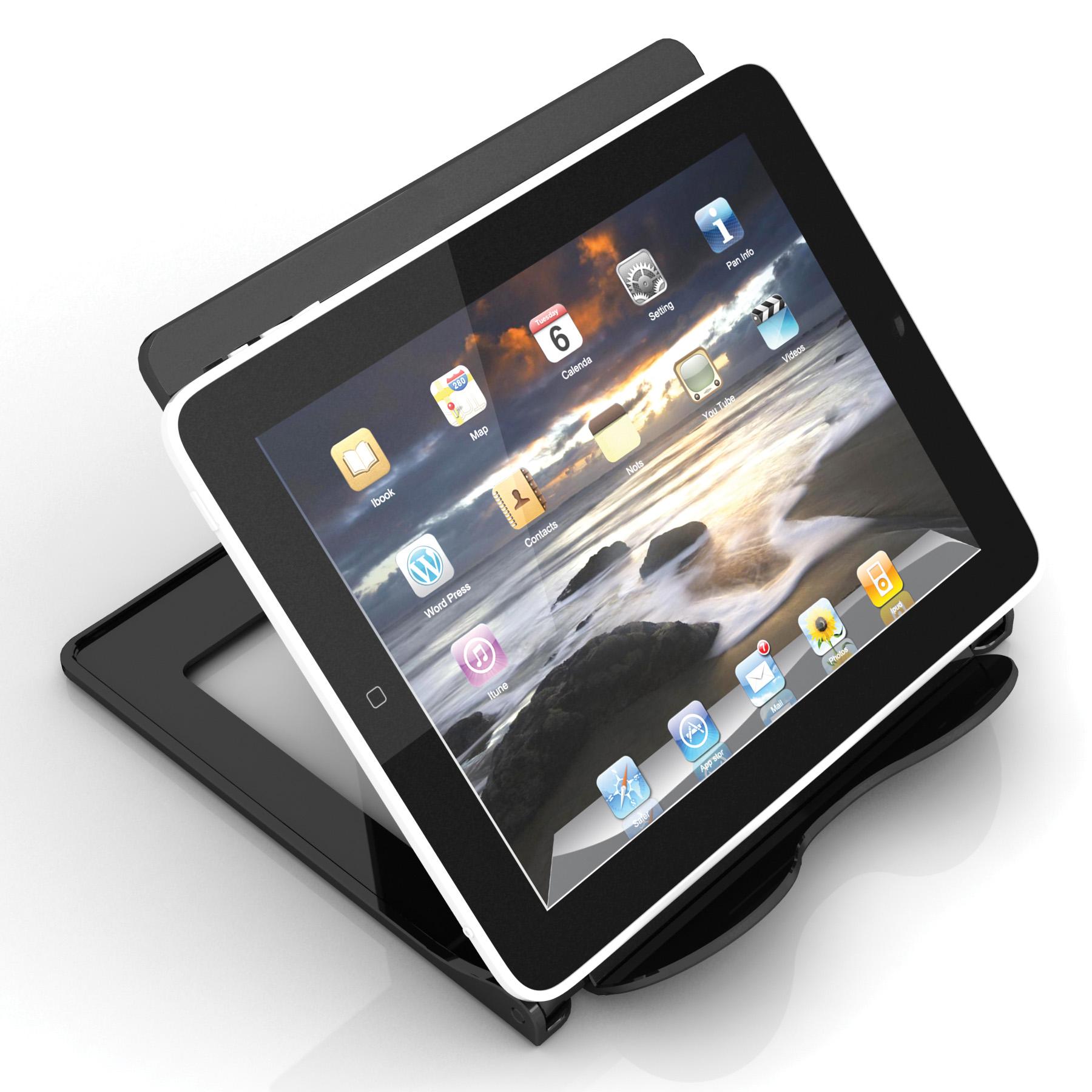 Deflecto Tablet E Reader Stand BK