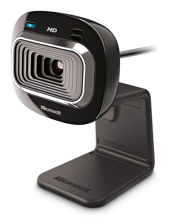 Webcams Microsoft LifeCam HD3000 USB 2.0 Webcam 1MP