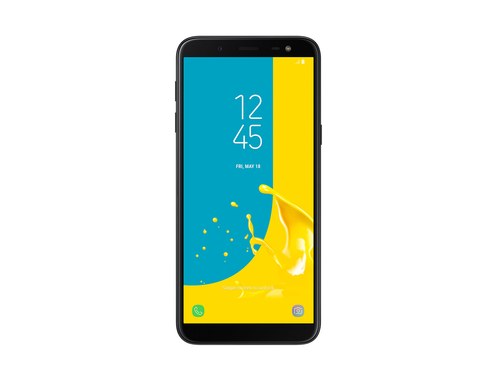 Mobile Phones Samsung J6 2018 32GB Black Smartphone