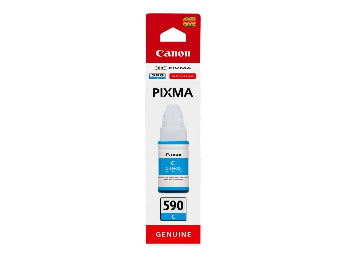 Canon 1604C001 GI590 Cyan Ink 70ml