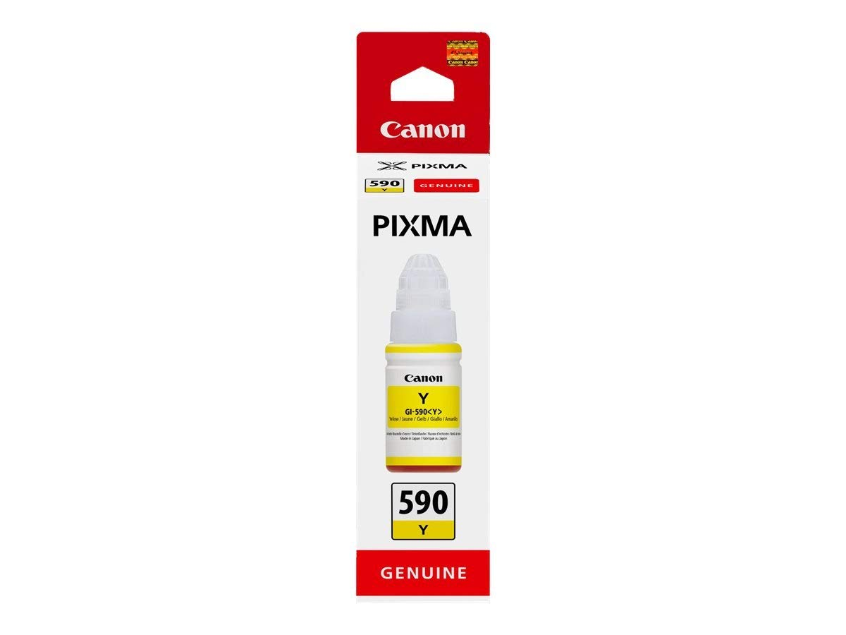 Canon 1606C001 GI590 Yellow Ink 70ml