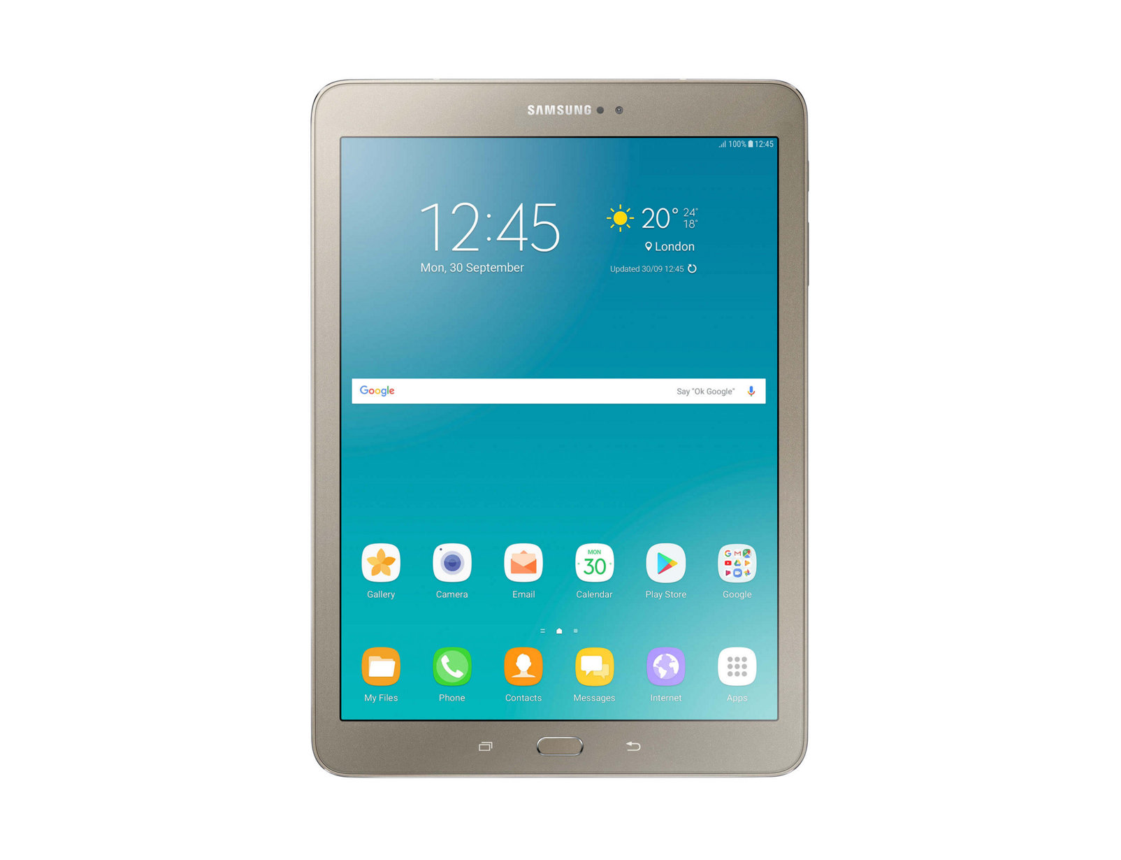 Samsung Galaxy Tab S2 9.7in LTE Gold