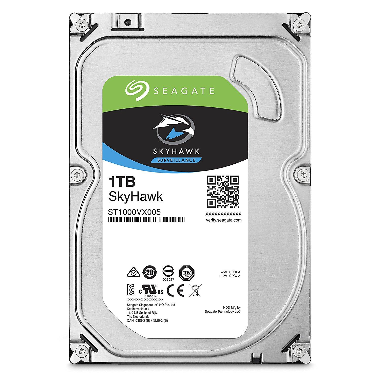 Seagate HDD Int 1TB SkyHawk SATA 3.5