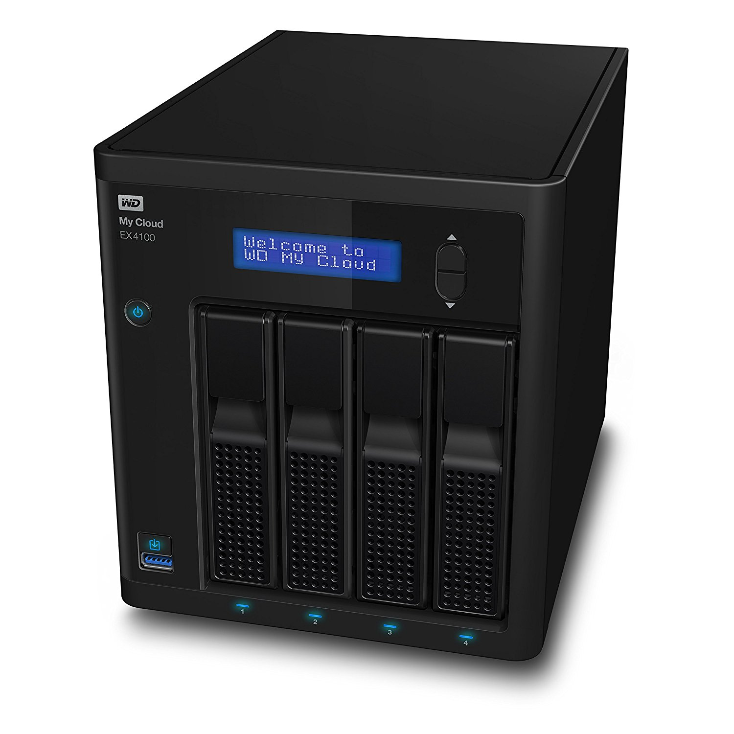 My Cloud EX4100 24TB NAS Desktop