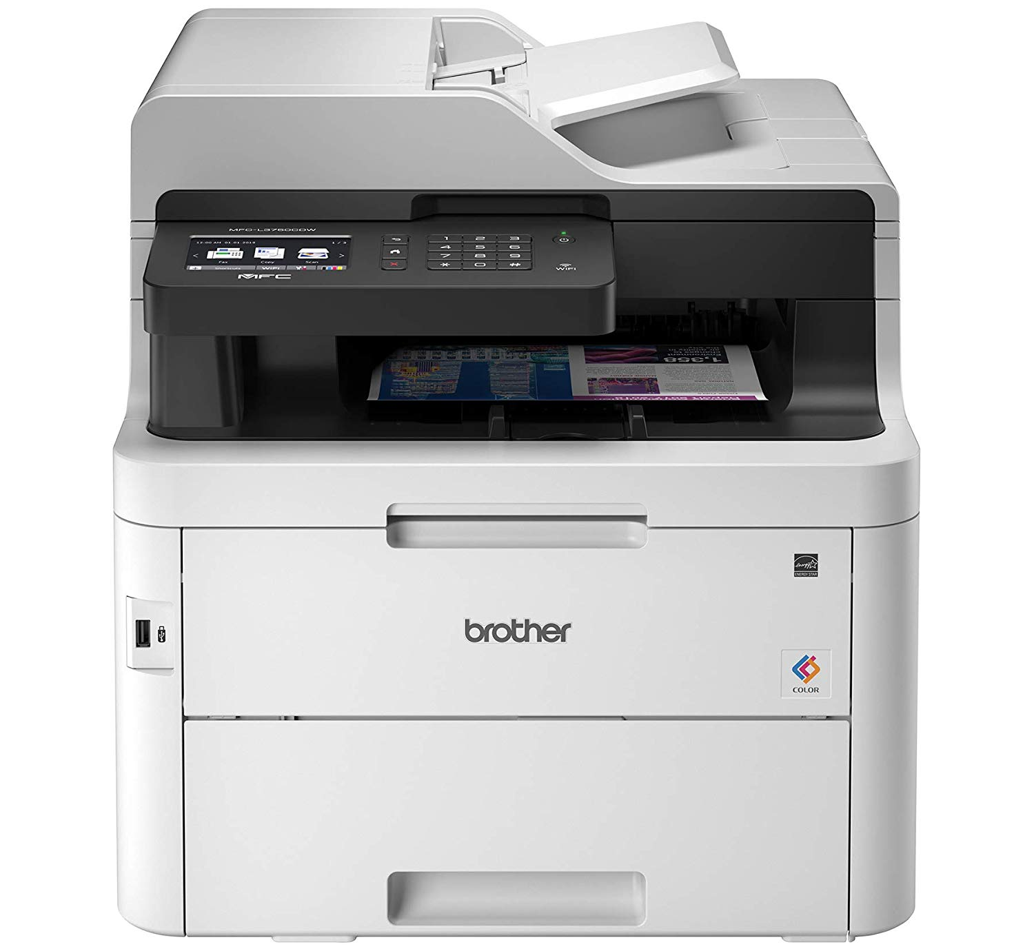 Multifunction Machines Brother MFCL3750CDW A4 Colour Laser Printer