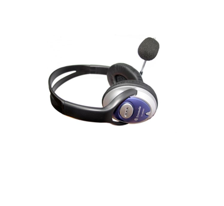 Dynamode DH660 Stereo Headphones with Microphone