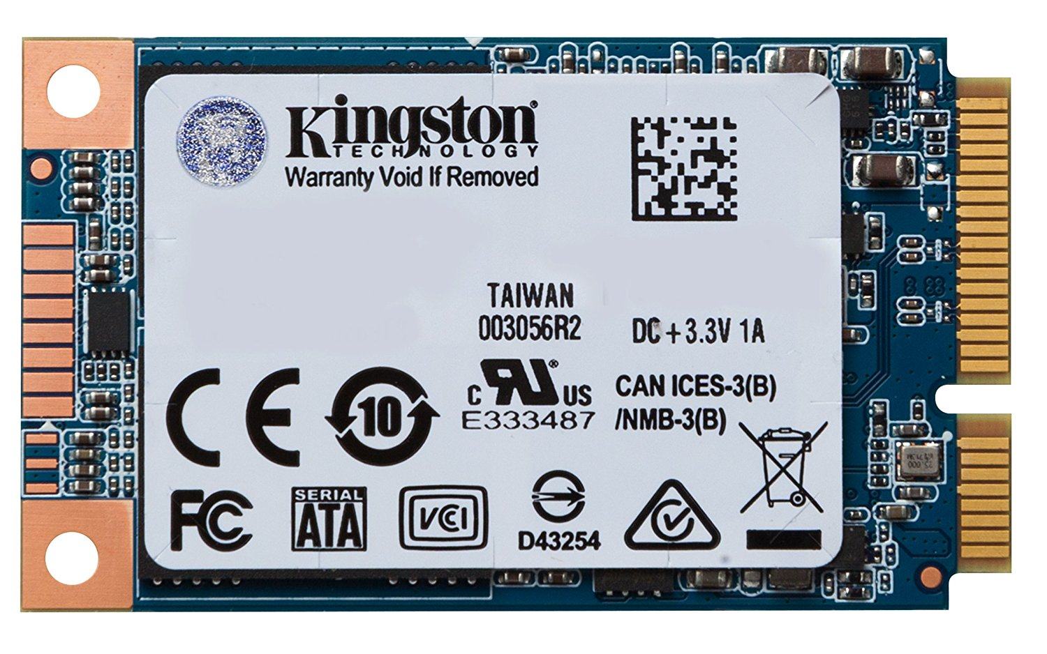 Hard Drives Kingston SSD Internal 240GB UV500 SATA mSATA