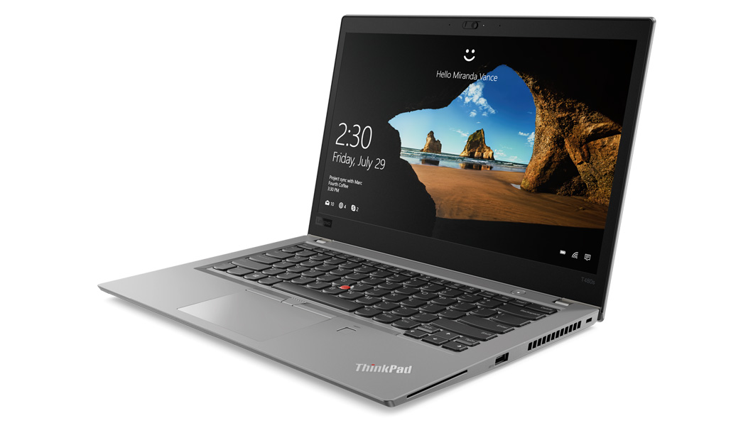 Lenovo T480s 14in i7 8GB Thinkpad
