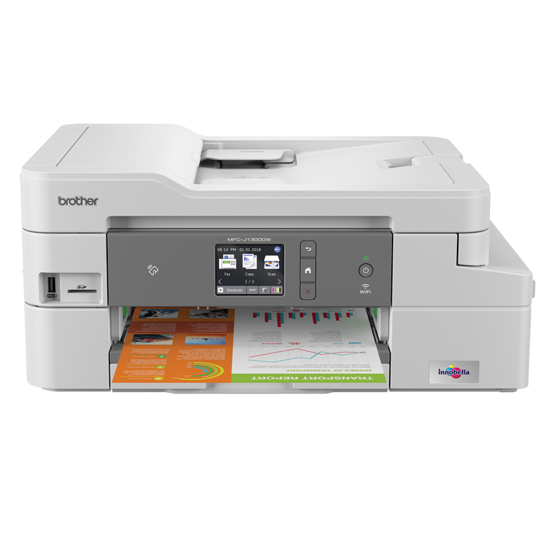 Inkjet Printers Brother MFC J1300DW A4 Wireless 4in1 Printer