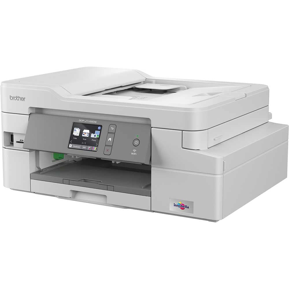 Inkjet Printers Brother DCP J1100DW A4 Wireless 3in1 Printer