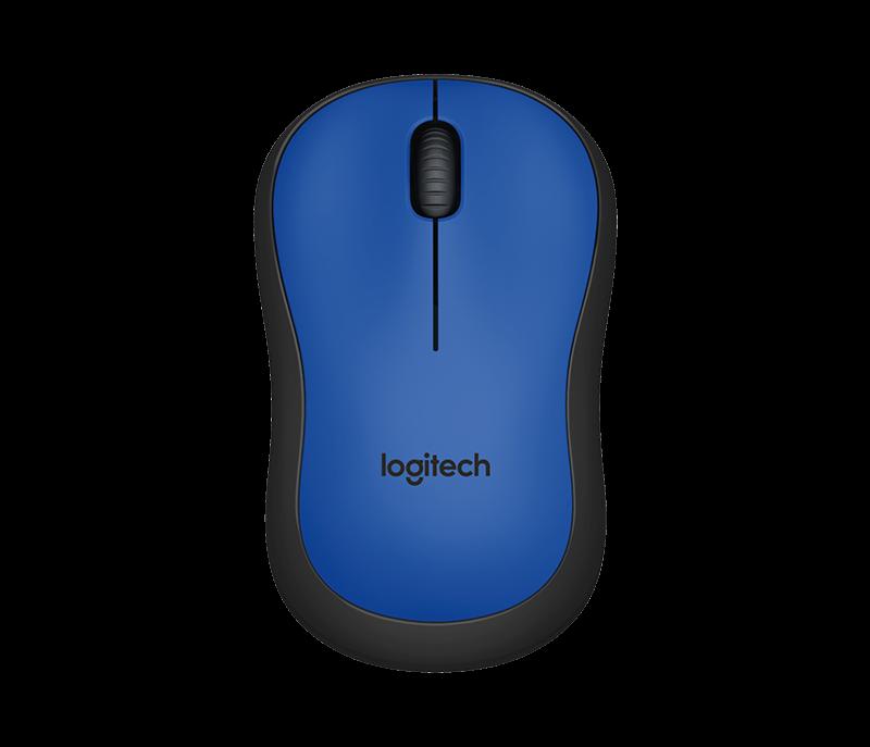 Logitech M220 Silent Blue Mouse