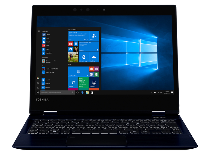 Toshiba X20 12.5in Touchscreen i5 Notebook