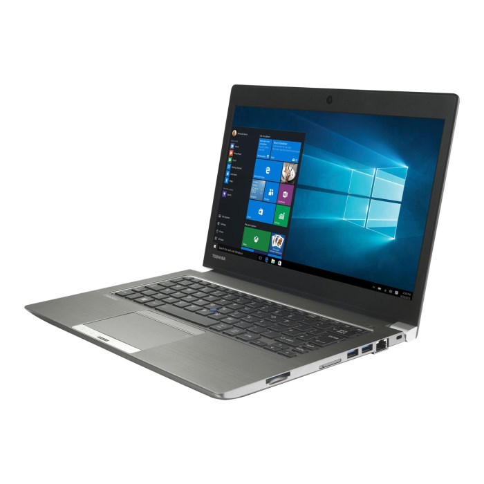 Toshiba Portege X20 12.5in i5 8GB 2in1 Laptop