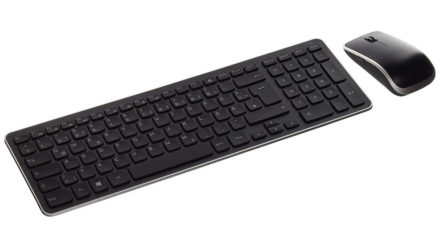 Wired Dell KM714 Wireless Keyboard Mouse