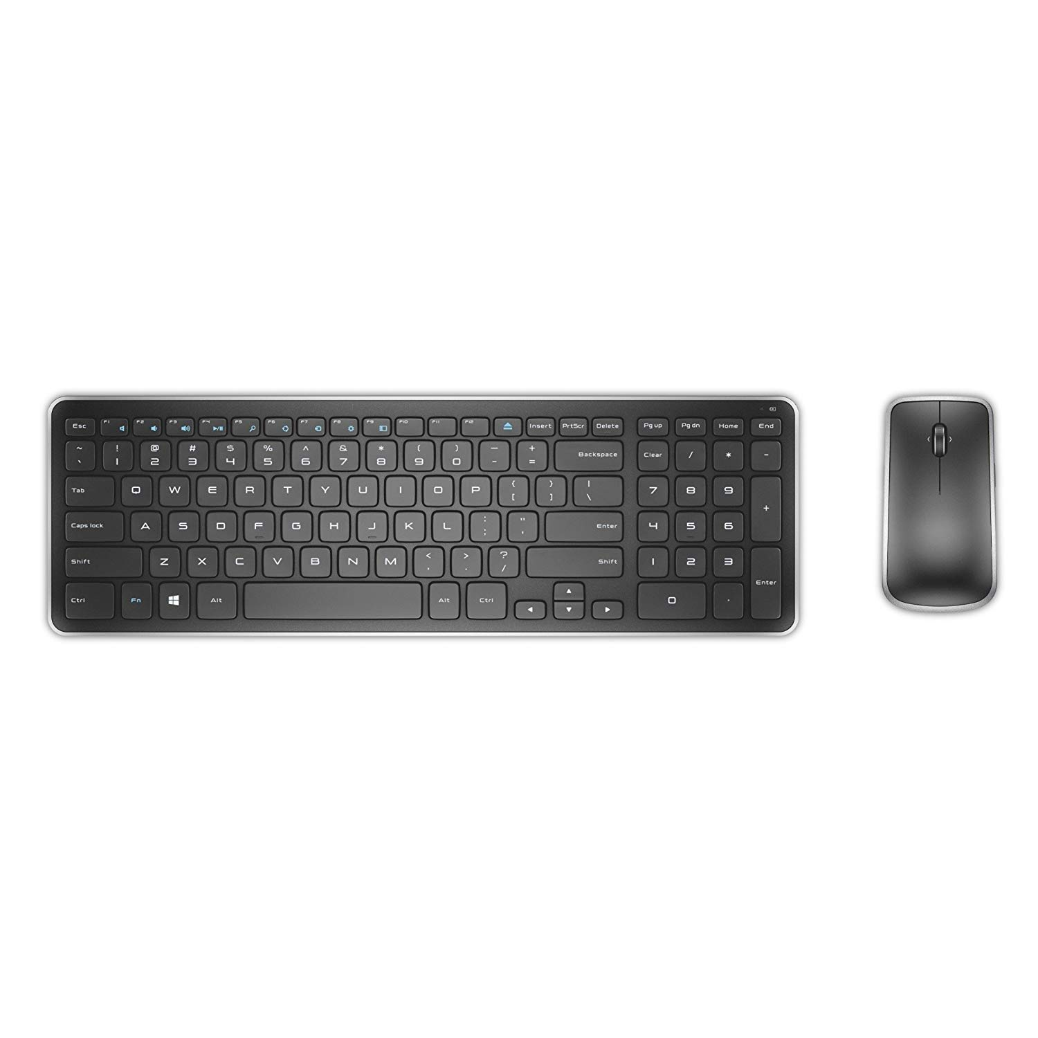 Dell Wireless Keyboard Mouse Set Grey
