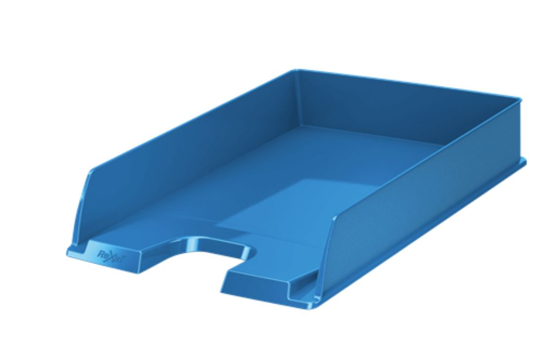 Rexel Choices A4 Letter Tray Blue