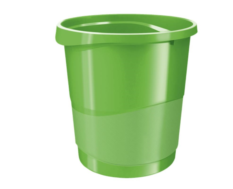 Rexel Choices Waste Bin Green