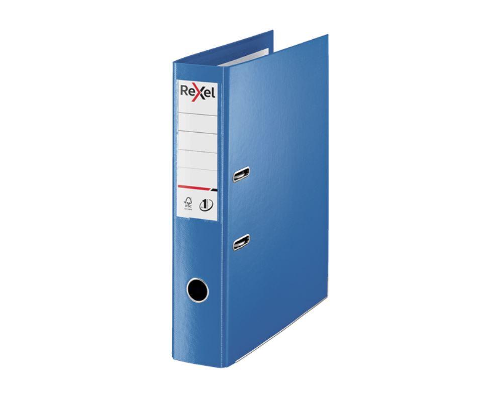 Rexel Choices Fscap PP LAF Blue PK10