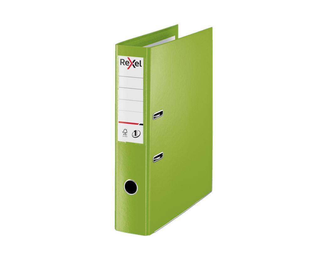 Rexel Choices Fscap PP LAF Green PK10