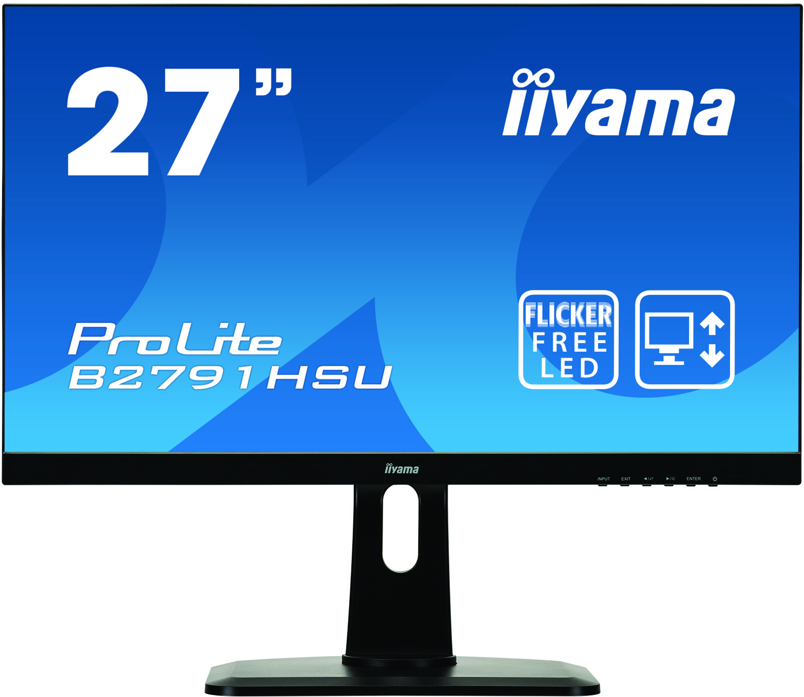 27in Monitor HD Speakers VGA HDMI