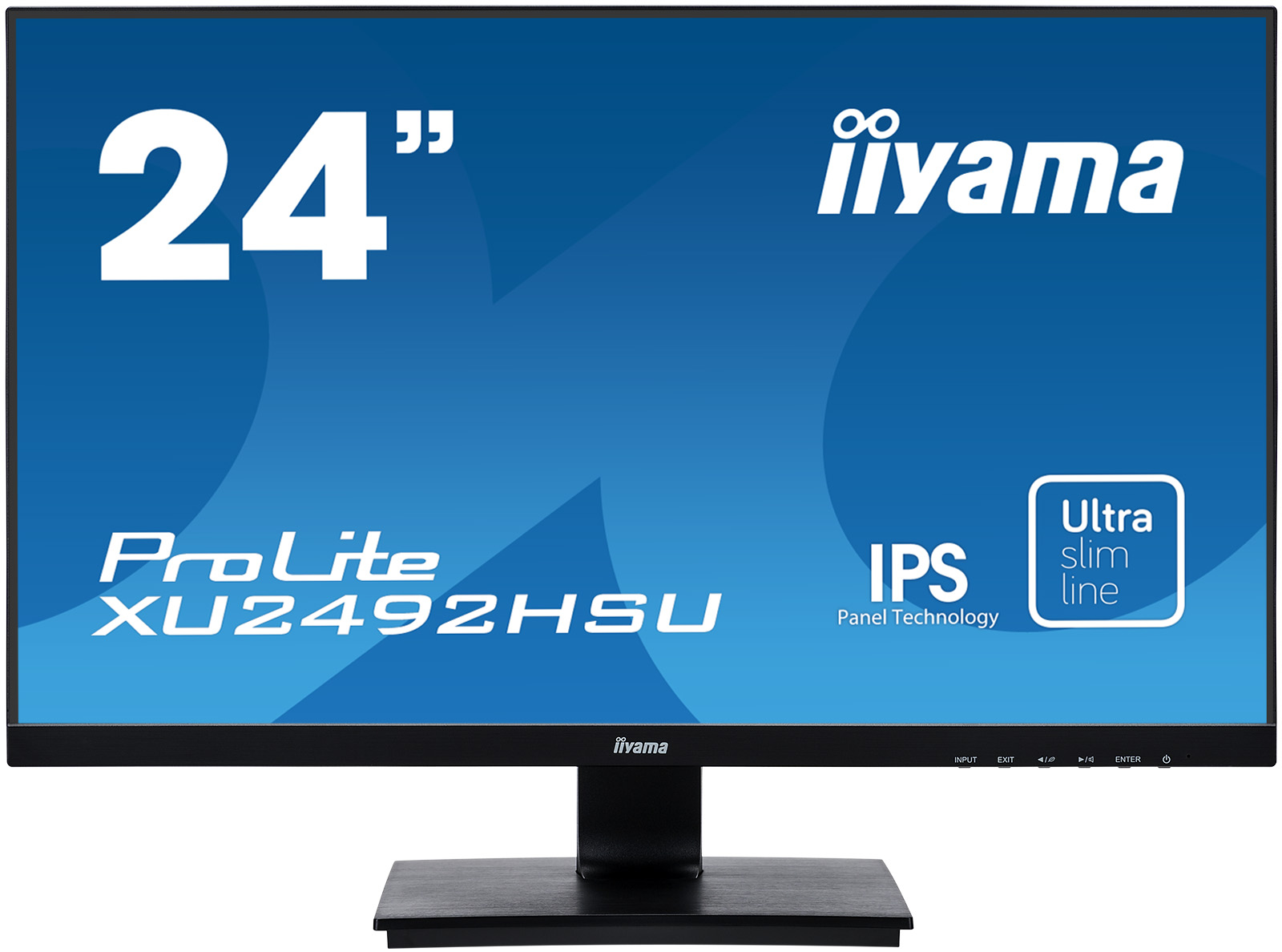 23.8in Monitor Full HD Speakers VGA HDMI