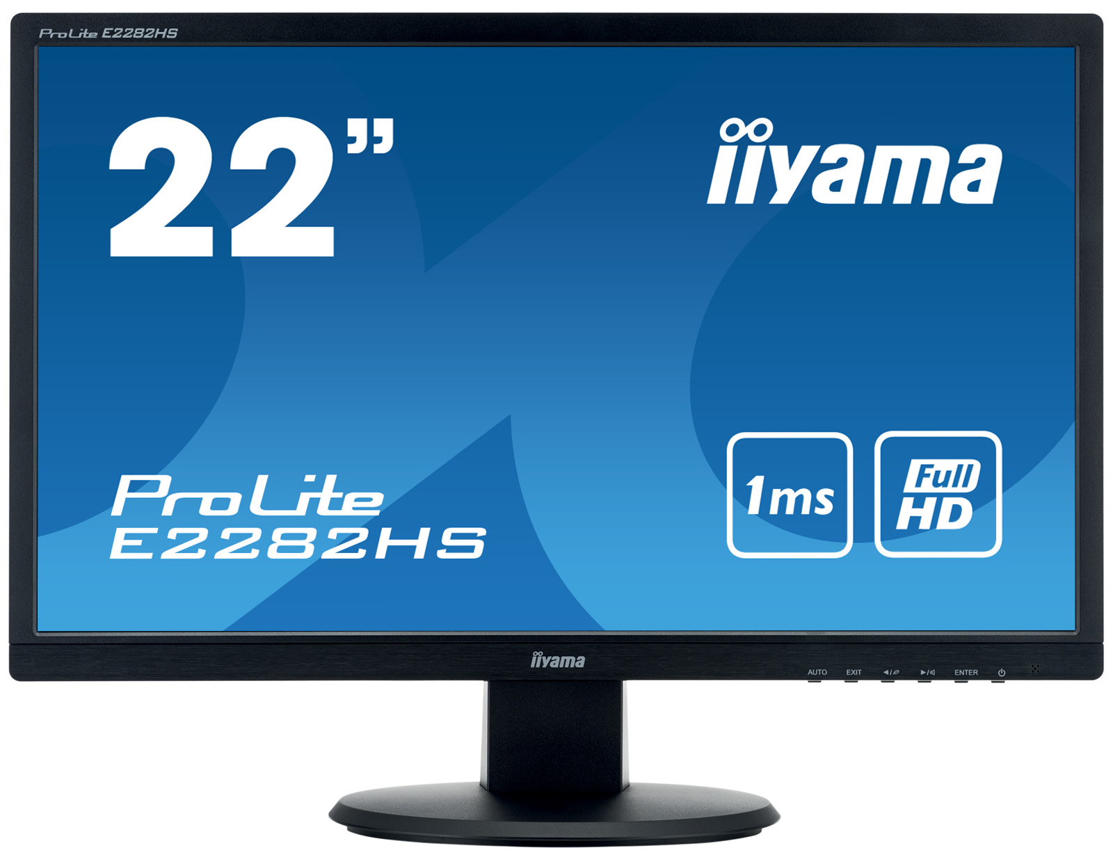 21.5in Monitor HD Speakers VGA DVID HDMI