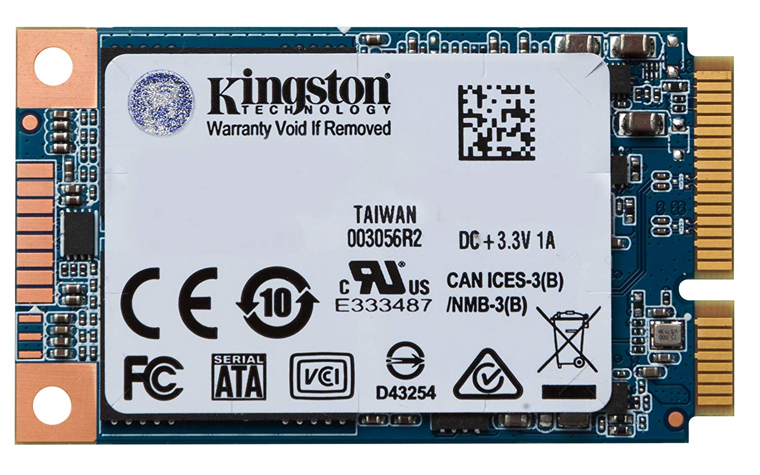 Hard Drives Kingston UV500 480GB mSATA Int SSD
