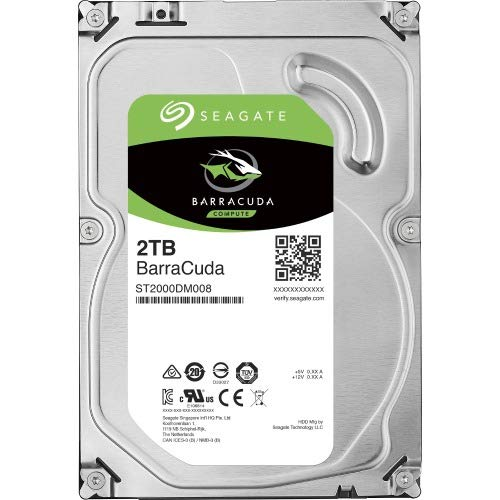2TB BarraCuda SATA 3.5 Int HDD