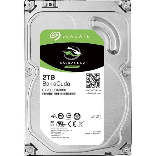 Seagate 2TB BarraCuda SATA 3.5 Int HDD