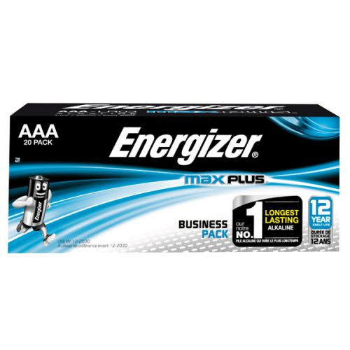 AAA Energizer Max Plus AAA PK20