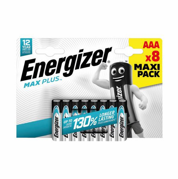 Energizer Max Plus AAA PK8
