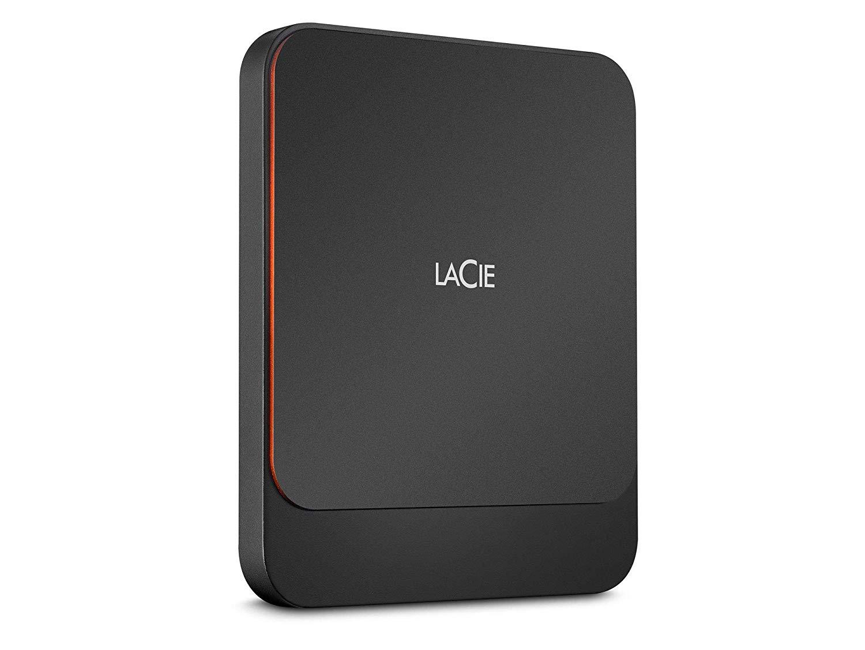 Hard Drives LaCie 2TB Portable USBC External SSD