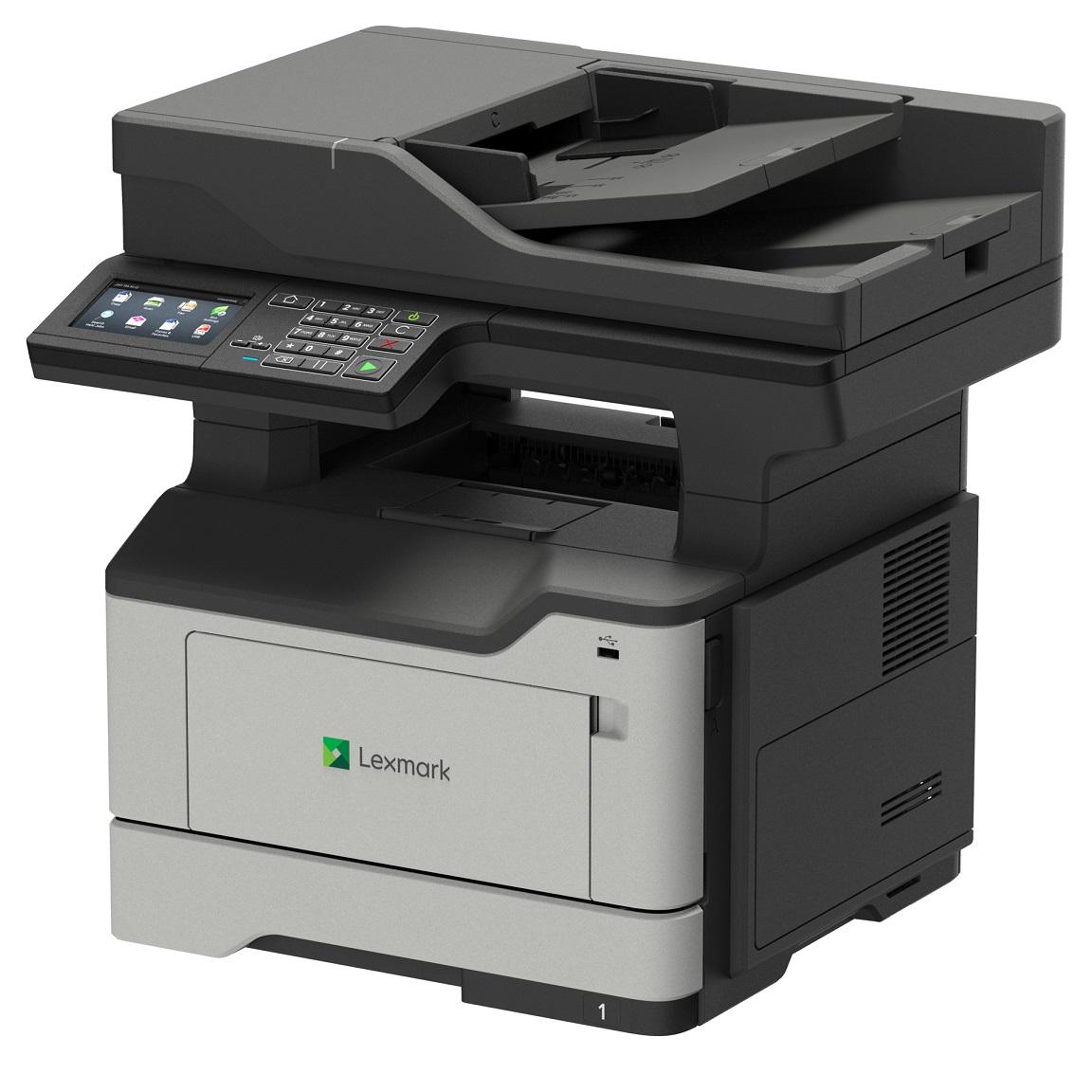 Laser Printers Lexmark MX521ade Mono A4 Laser MFP