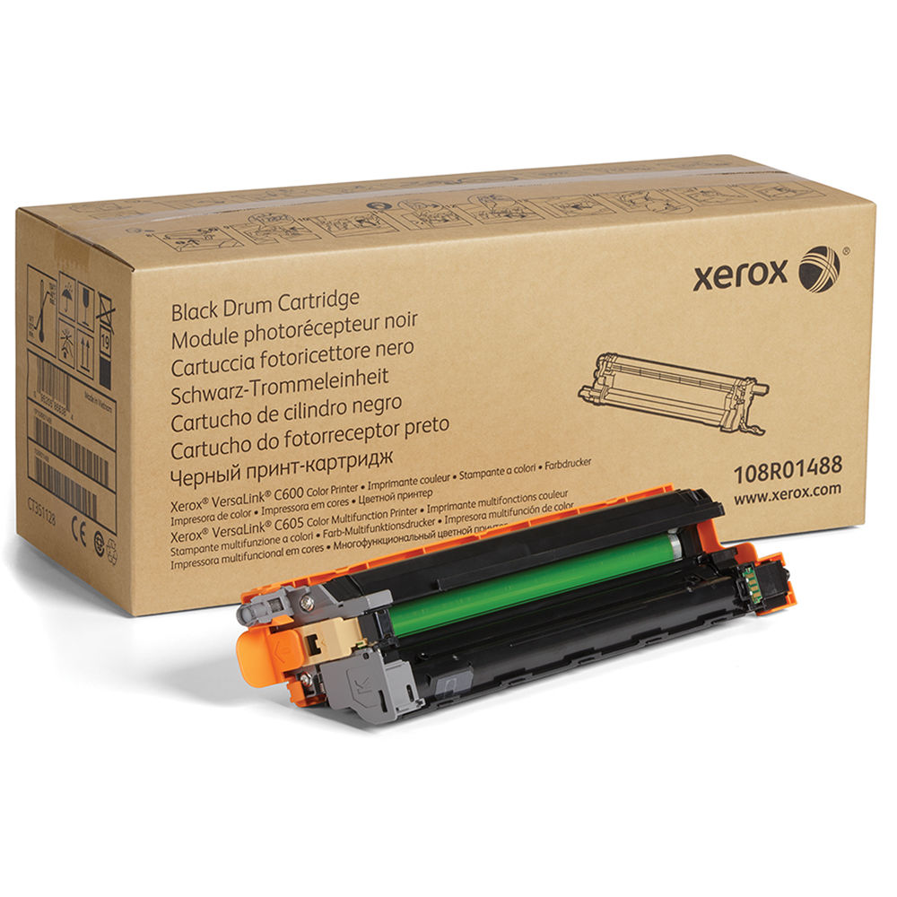 Xerox Black Standard Capacity Drum Unit 40k pages for VLC600/ VLC605 - 108R01488