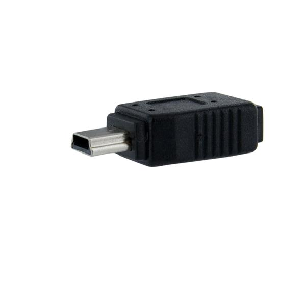 Cables & Adaptors StarTech Micro USB to Mini USB Adapter