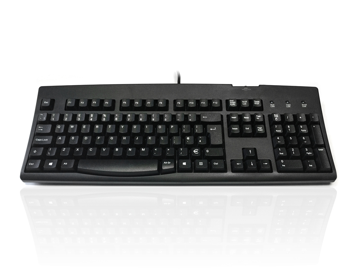 Accuratus 260 Euro Hub USB Keyboard