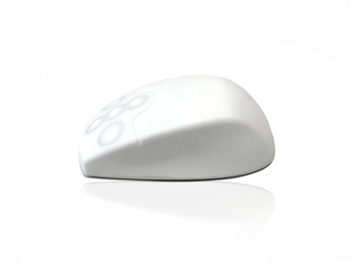 AccuMed RF Wireless White Mouse