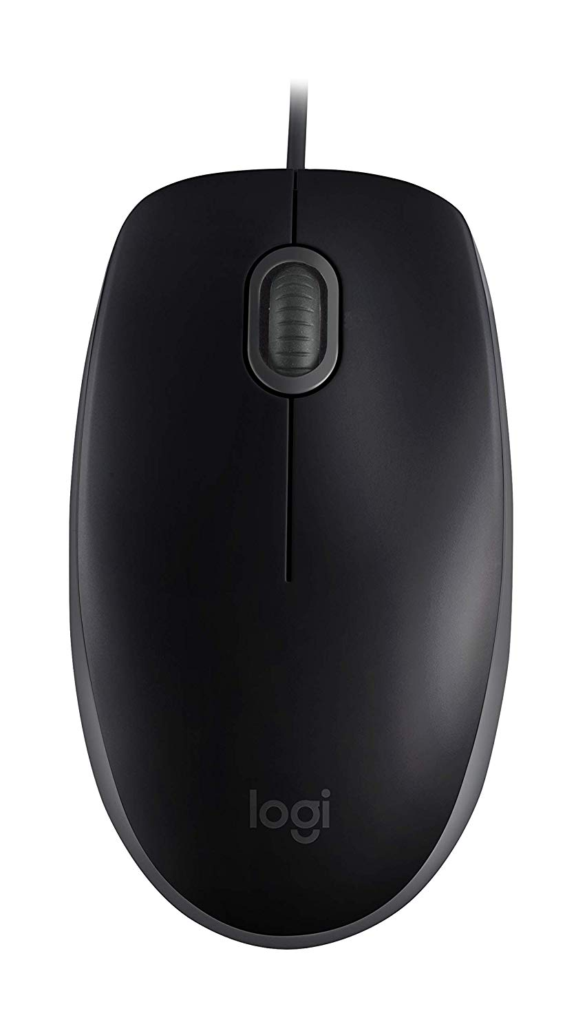 Wireless Logitech B110 Silent Black Mouse