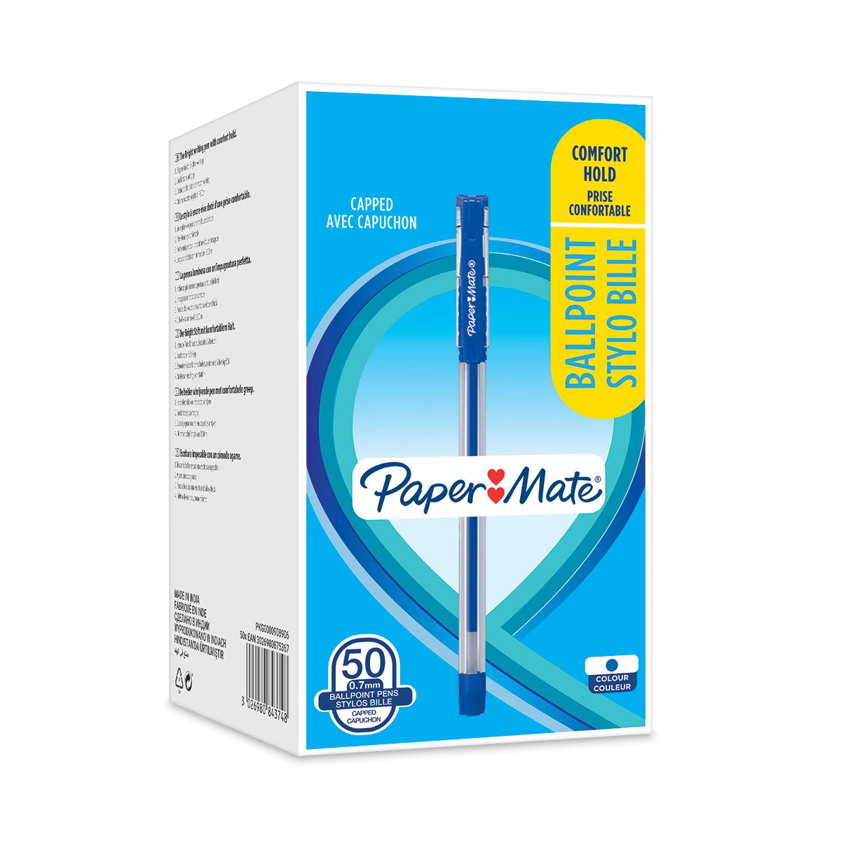 Paper Mate BP Grip 0.7 BL PK50