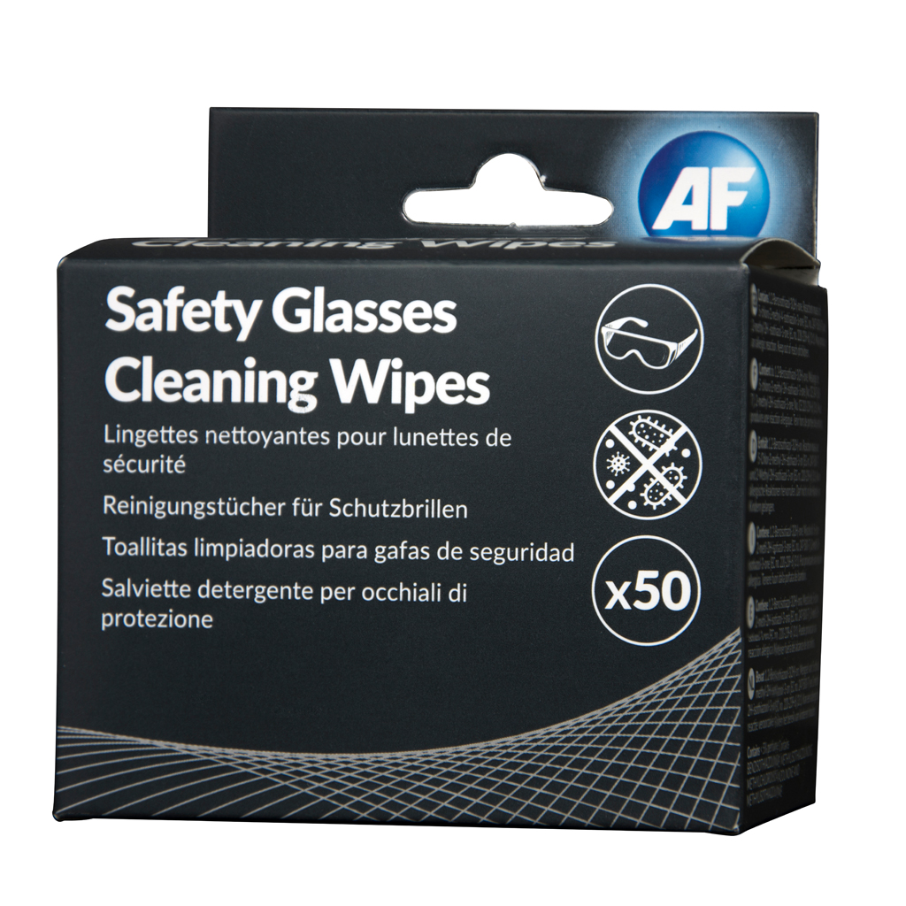 AF Safety Glasses Cleaner PK50