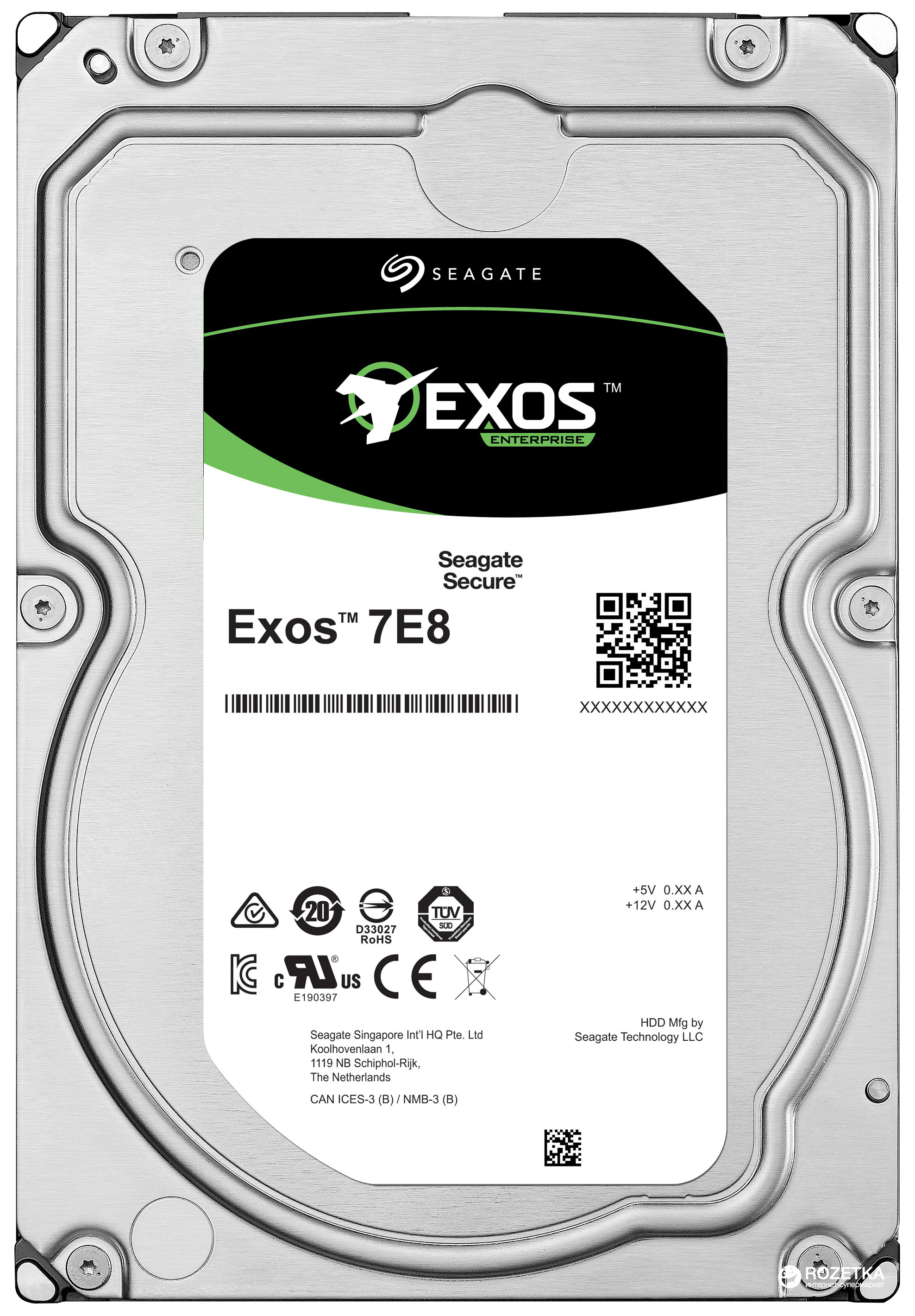 Seagate 1TB Exos 7E8 SAS 3.5 Internal HDD