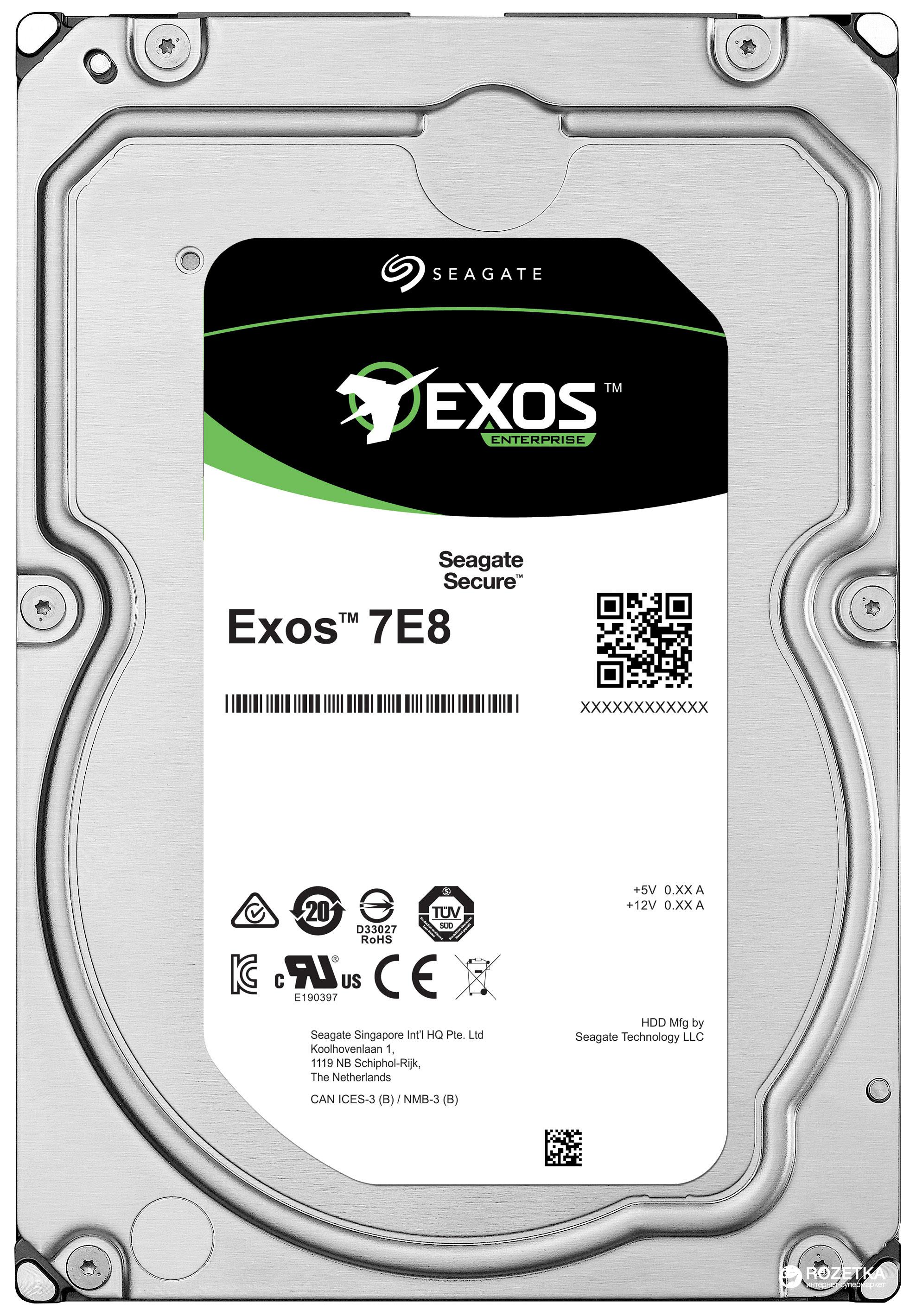 Seagate 1TB Exos 7E8 SAS 3.5 Internal HDD