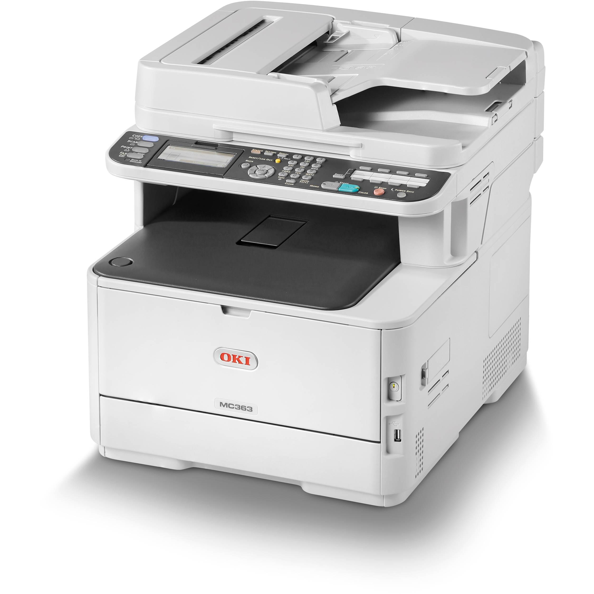 Laser Printers Oki MC363DNW Colour Laser MFP