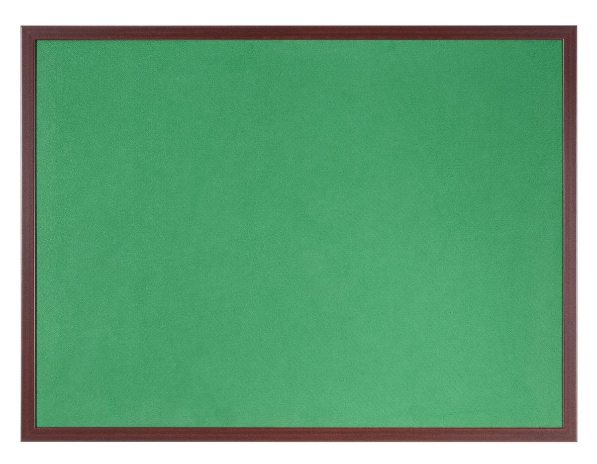Felt Bi-Office Earth-It Green felt 240x120cm Cherry Wood 32 mm