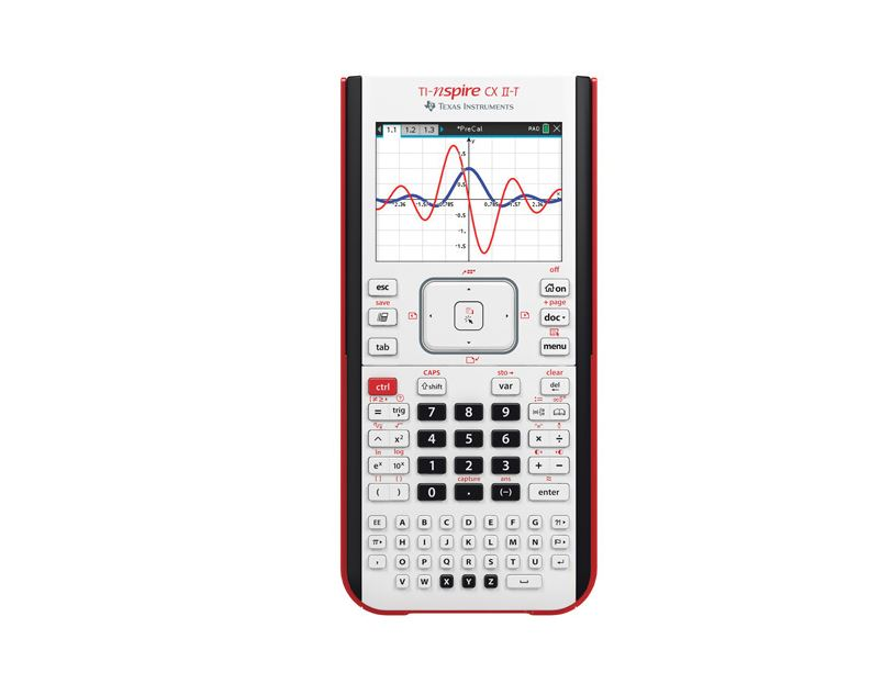 TI Nspire CX II-T Handheld Calculator