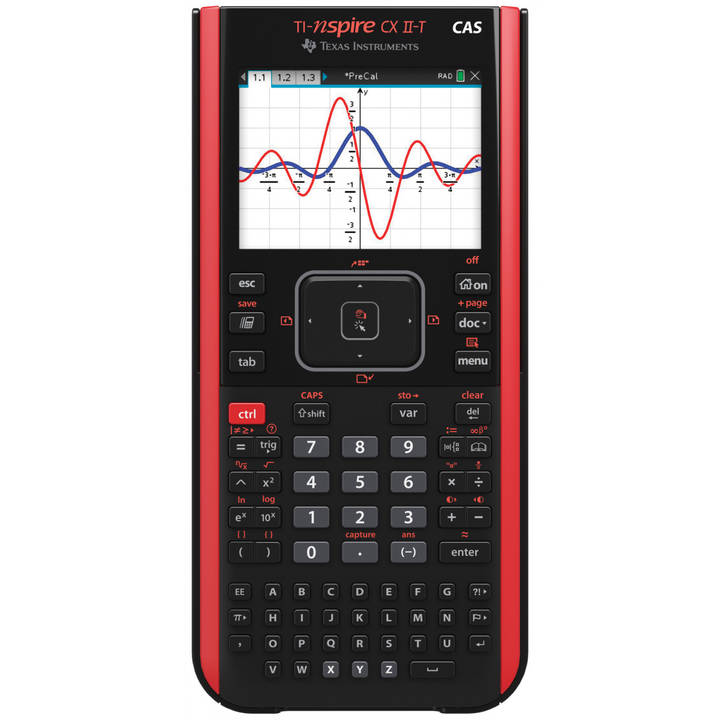 TI Nspire CX II-T CAS Handheld Calculator