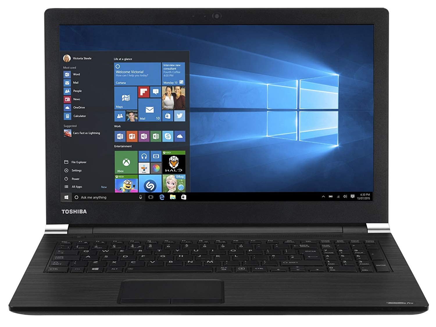 Toshiba Satellite Pro A50 15.6in i7 8GB Notebook