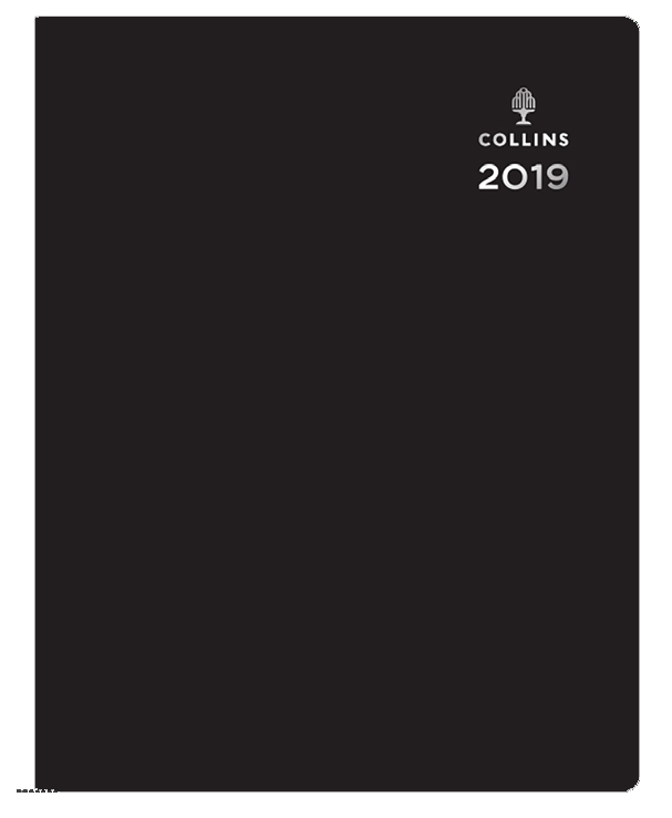Collins A5 Leadership Diary Week to View Appts 2020 Black