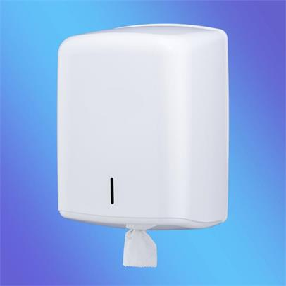 Value White Plastic Centrefeed Dispenser